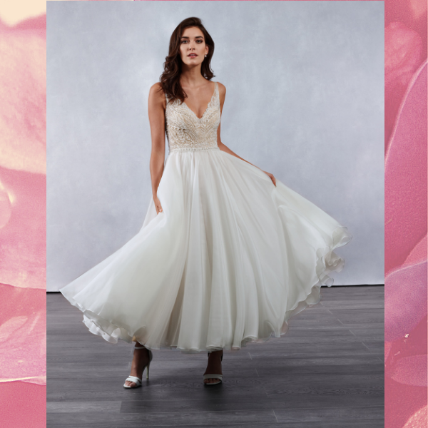 Glee wedding gown (M691)