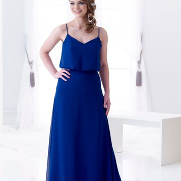 Gillian Modern chiffon bridesmaid dress