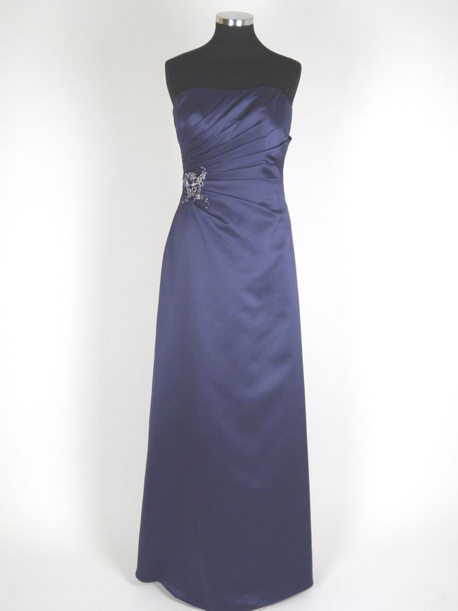 Sienna size 14 Amethyst satin evening dress