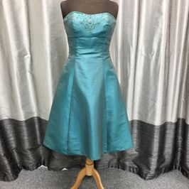 Vema Teal Tea length dress size 14