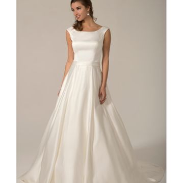 Susanna (Venus PA9289) Satin princess line wedding dress