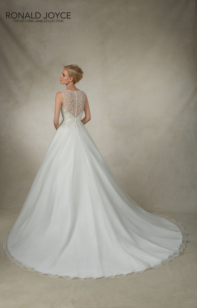 Jessica 18006 Ivory Organza size 14 wedding dress