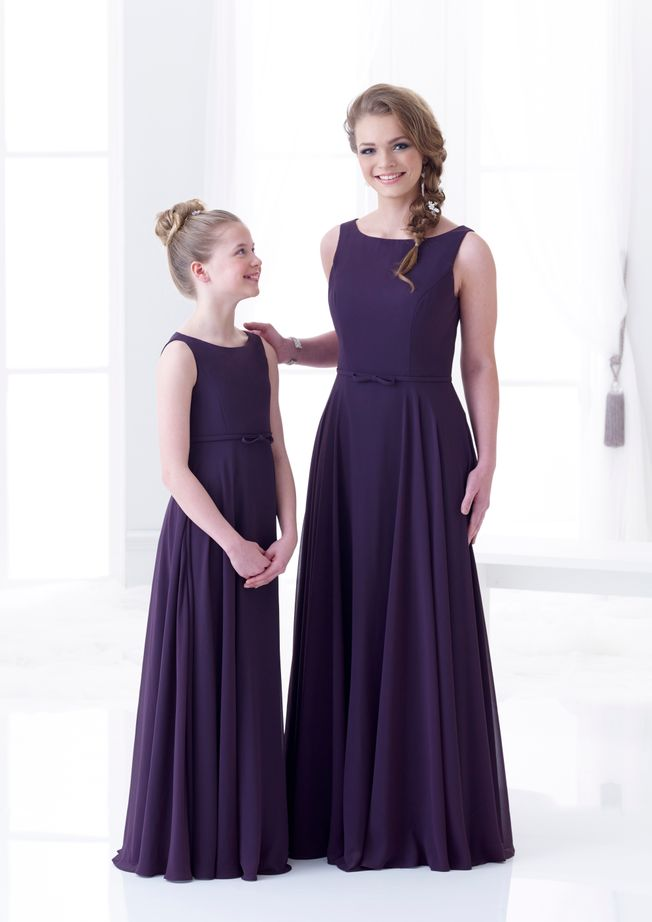 Charlotte Chiffon Bridesmaid dress